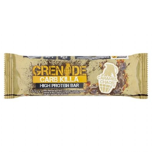 Grenade Carb Killa High Protein Bar Caramel Chaos 60g (UK)